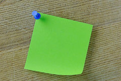 Blank Post it Note Royalty Free Stock Photo