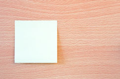 Blank post it Stock Photos