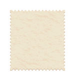 Blank post stamp. Vector Illustration of a blank post stamp Stock Image