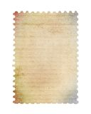 Blank post stamp. Scanned with high resolution. Saved with clipping path Royalty Free Stock Photo