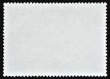 Blank post stamp Stock Photos