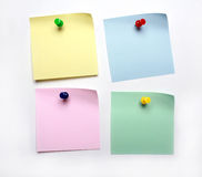 Blank post it to do list Stock Photo