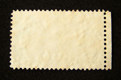 Blank postage stamp Royalty Free Stock Image