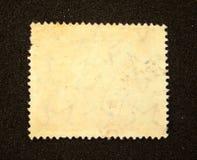 Blank postage stamp Stock Image