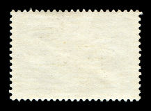 Blank postage stamp background Royalty Free Stock Photo