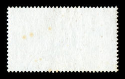 Blank postage stamp background Stock Photos