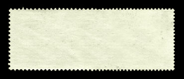 Blank postage stamp background Royalty Free Stock Photography