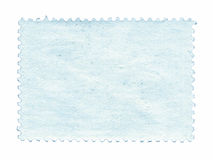 Blank postage stamp background textured isolated Royalty Free Stock Photography