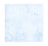 Blank postage stamp background textured  Royalty Free Stock Photos