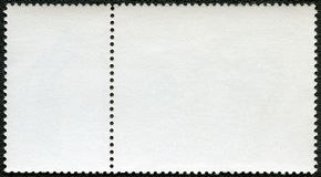 Blank postage stamp block Royalty Free Stock Photography