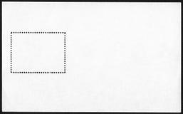 Blank postage stamp block Stock Photos