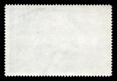 Blank Postage Stamp Royalty Free Stock Photography