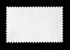 Blank postage stamp Royalty Free Stock Images