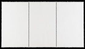 Blank Postage Stamp Strip Royalty Free Stock Photos