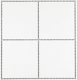 Blank Postage Stamps Background Royalty Free Stock Images