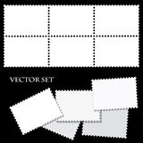 Blank postage stamps Royalty Free Stock Photography