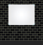Blank poster Royalty Free Stock Photos