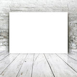 Blank poster as copy space template for your design Royalty Free Stock Image