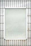 Blank poster frame Royalty Free Stock Photo