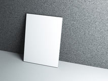 Blank poster Royalty Free Stock Photo