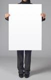 Blank poster Stock Photos