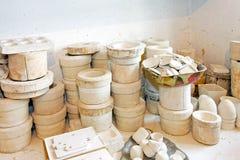 Blank pottery Royalty Free Stock Photos