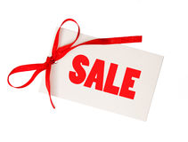 Blank price tags Stock Photo