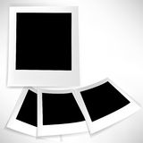 Blank printed photo set Royalty Free Stock Photography