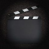 Blank production clapper Royalty Free Stock Photo