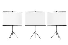 Blank Projection Screens Royalty Free Stock Photos