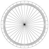 Blank protractor - Actual Size Graduation isolated on background vector. Ilustration Royalty Free Stock Images