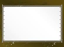 Blank public billboard Royalty Free Stock Image
