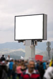 Blank public monitor Royalty Free Stock Photography