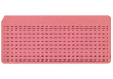Blank Punched Card. Blank vintage 80 columns punched card Royalty Free Stock Image