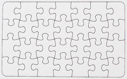 Free Blank Puzzle Stock Photography - 17400682