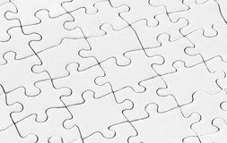 Blank puzzle Royalty Free Stock Photography