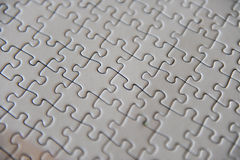 Blank Puzzle Stock Photos