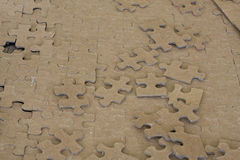 Blank Puzzle Pieces Royalty Free Stock Images