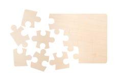 Blank Puzzle Pieces Stock Photos
