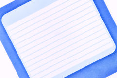 Blank realistic spiral notebook Stock Photos
