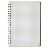 Blank realistic spiral notepad notebook isolated on white Royalty Free Stock Photos