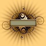 Blank rectangle background Royalty Free Stock Image
