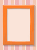 Blank rectangular frame Stock Images