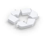 Blank Recycle symbol Stock Image