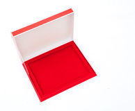 Blank Red Box Stock Image