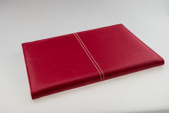 Blank red hardcover book Stock Photography