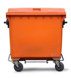 Blank refuse bin Stock Images