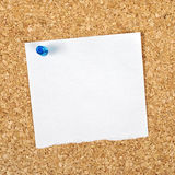 Blank Reminder Note as Copy Space Stock Photos