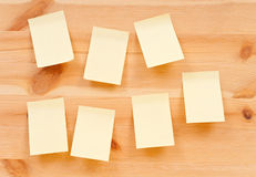 Blank Reminders Stock Photography
