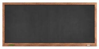 Blank retro blackboard Royalty Free Stock Image